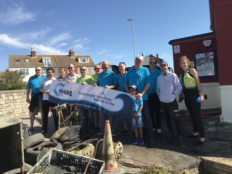 Project Aware Dive Against Debris Poole Harbour